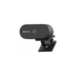 Camera Web Sandberg 134-10, Full HD 1080p, unghi larg de vizualizare, USB