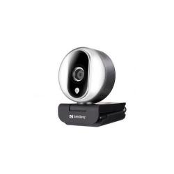Camera Web Sandberg 134-12 Streamer Pro, Full HD 1080p, USB, WEBCAM-13412-SNG
