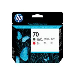 Cap Printare HP No 70 Matte Black and Red C9409A