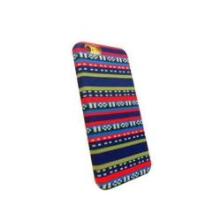 Carcasa de protectie spate din Textil Serioux 01 pentru iPhone 6/6S, Multicolor