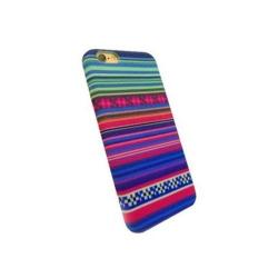 Carcasa de protectie spate din Textil Serioux 04 pentru iPhone 6/6S, Multicolor