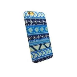 Carcasa de protectie spate din Textil Serioux 06 pentru iPhone 6/6S, Multicolor