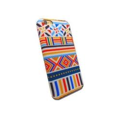 Carcasa de protectie spate din Textil Serioux 07 pentru iPhone 6/6S, Multicolor