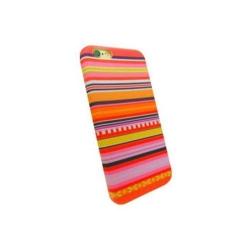 Carcasa de protectie spate din Textil Serioux 08 pentru iPhone 6/6S, Multicolor