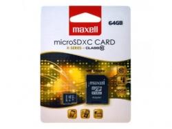Card memorie 64GB microSDHC Clasa 10 cu adaptor pentru SD