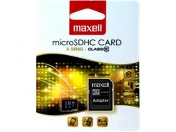 Card memorie 8GB microSDHC Clasa 10 cu adaptor pentru SD
