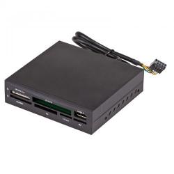 Card reader Akyga AK-CA-37, 3.5inch intern, 6 in 1, USB 2.0