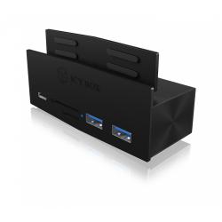 Card Reader Raidsonic IcyBox, 5x USB 3.0, Black