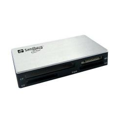 Card reader Sandberg Multi, USB 3.0, Black-Silver