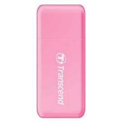Card Reader Transcend USB 3.1 Gen 1 SD/microSD, pink