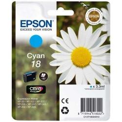 Cartus Cerneala Epson 18 Cyan - C13T18024010