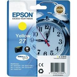 Cartus Cerneala Epson 27 Yellow C13T27044010