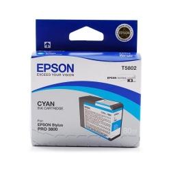Cartus Cerneala Epson T5802 Cyan C13T580200