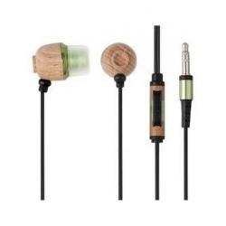 Casti cu microfon A4Tech Eco-Friendly Organic, Brown-Green