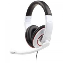 Casti cu microfon GEMBIRD MHS-001-GW, white