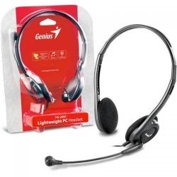 Casti cu microfon Genius HS-200C, Black
