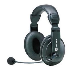 Casti cu microfon Serioux piele, mari, volume control, SRXS-H900MV