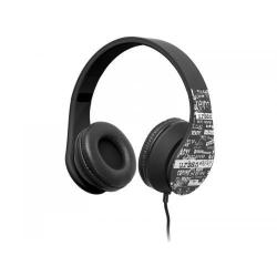 Casti cu microfon Tracer Urban Style, Black-White