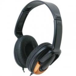 Casti stereo Serioux plastic, mari, volume control, ajustabile SRXS-H350V
