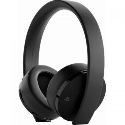 Casti Wireless Sony Gold pentru PlayStation 4, Black + Fortnite Neo Versa Bundle