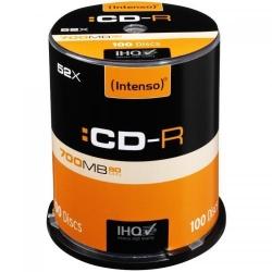 CD-R Intenso [cutie 100   700MB   52x]