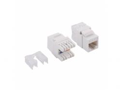 Conector Logilink, 1 x RJ45, Cat6, UTP, White
