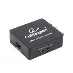 Convertor Gembird DSC-HDMI-CVBS, HDMI - CVBS, Black
