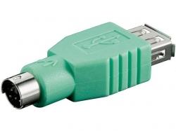 Convertor USB A mama la PS/2 tata - numai pt. mouse AF-PS2M-BU