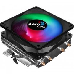 Cooler procesor Aerocool Air Frost 4 FRGB, 90mm, Black