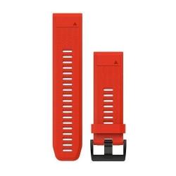 Curea ceas Garmin Fenix 5x Silicon, Red