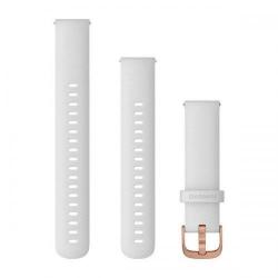 Curea Smartwatch Garmin cu scoatere rapida, 18mm, White