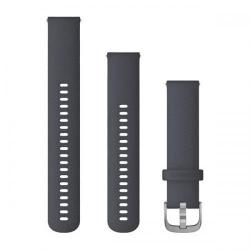 Curea Smartwatch Garmin cu scoatere rapida, 20mm, Blue