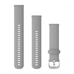 Curea Smartwatch Garmin cu scoatere rapida, 20mm, Grey