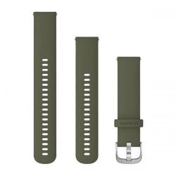 Curea Smartwatch Garmin cu scoatere rapida, 20mm, Moss