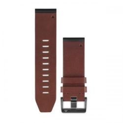 Curea Smartwatch Garmin QuickFit pentru Fenix 5X, Brown Leather