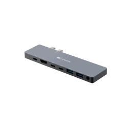 Docking Station Canyon CNS-TDS08DG, USB-C, Grey