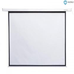 Ecran de proiectie electric 4World 09459, 152x152cm