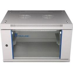EXTRALINK 6U 600X450 WALL-MOUNTED RACKMOUNT CABINET GREY