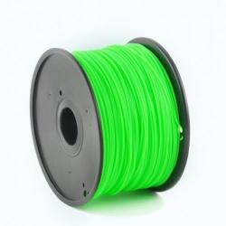 Filament Gembird ABS, 1.75mm, 1kg, Green