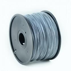 Filament Gembird ABS, 1.75mm, 1kg, Silver