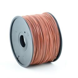 Filament Gembird ABS, 3mm, 1kg, Brown