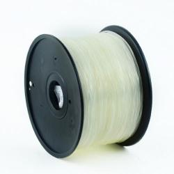 Filament Gembird ABS, 3mm, 1kg, Transparent