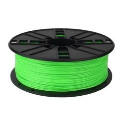 Filament Gembird PLA, 1.75mm, 1kg, Fluorescent Green