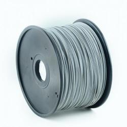 Filament Gembird PLA, 3mm, 1kg, Grey