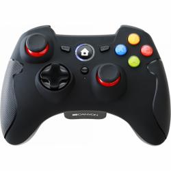 Gamepad Canyon CND-GPW6, Wirelesss, Black