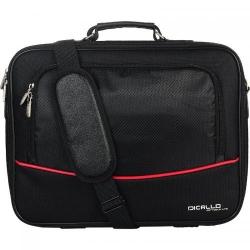 Geanta Dicallo LLM4040 pentru laptop de 15.6inch, Black