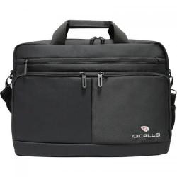 Geanta Dicallo LLM9802 pentru laptop de 15.6inch, Black