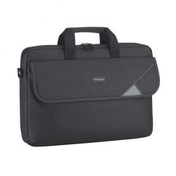 Geanta Targus Intellect Topload pentru Laptop de 15.6inch, Black-Grey