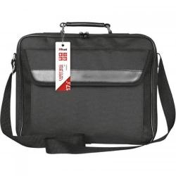 Geanta Trust Atlanta pentru laptop de 17.3inch, Black