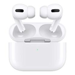Handsfree Apple AirPods Pro, White + Carcasa incarcare